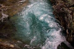 Błękitne wody Zdjęcie Stock