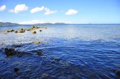 Błękitne wody Fotografia Stock