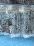 Błękitne wody bąbel i tlen tekstura Obraz Stock