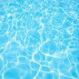 Błękitne wody fotografia Obrazy Stock