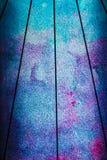 Błękitne wody kaskadowy tło szczegóły nowoczesna architektura Zdjęcie Royalty Free