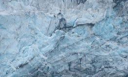Błękitne wody lodowiec, Alaska zdjęcie royalty free