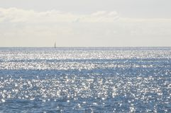 Błękitne Wody Macha teksturę Obrazy Royalty Free