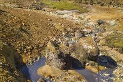 Błękitne wody w krÃsuvÃk Fotografia Royalty Free