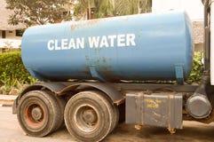 Błękitne wody zbiornik dla wody pitnej Fotografia Royalty Free