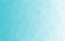 Błękitnego światła białego Poligonalny tło, Wektorowa ilustracja, Biznesowego projekta szablony marznący tło zima ilustracji