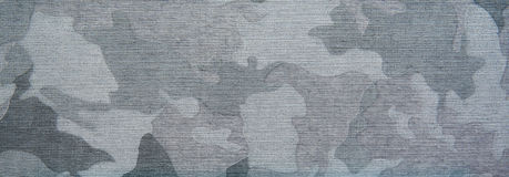 Błękitnego camo patern tekstura na płótnie Zdjęcie Royalty Free
