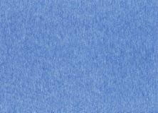 błękitnego koloru dziewiarska tekstylna tekstura Obraz Royalty Free