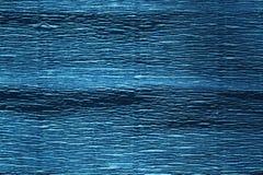 Błękitnego koloru krepdeszynowy papier z plama skutkiem Zdjęcie Stock