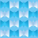 Błękitnego koloru wieloboków geometryczny powikłany tło Zdjęcia Royalty Free