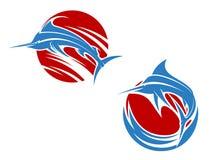 Błękitnego marlin ryba Obraz Stock