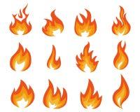 Błękitnego płomienia energia royalty ilustracja