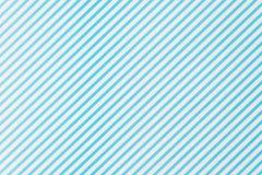 błękitnej i białej linii wzór Fotografia Stock