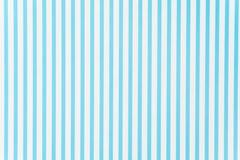 błękitnej i białej linii wzór Obraz Stock