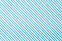 błękitnej i białej linii wzór Zdjęcia Stock