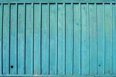 Błękitnej stajni Drewniana ściana Zdjęcie Royalty Free
