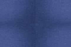 Błękitnej tkaniny tekstury bezszwowy tło Zdjęcia Stock