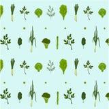 Błękitnej zieleni bezszwowy wzór Obrazy Royalty Free