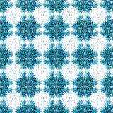 Błękitni abstrakcjonistyczni przedmioty na lekkiej tło wektoru ilustraci Zdjęcia Royalty Free