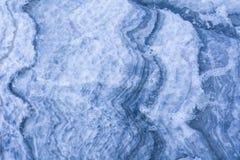Błękitni białej wody tekstury wzory Fotografia Royalty Free