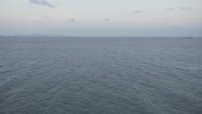 Błękitni denni statków żeglarzi, reklama, krajobraz, prędkość, fala, masa, zbiornik, ładunek, natura, pogodna zbiory wideo