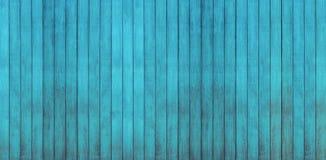 Błękitni drewniani tła obraz royalty free