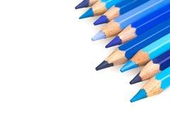 Błękitni kolorów pastele Fotografia Royalty Free