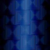 Błękitni kwadraty Obraz Stock