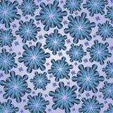 Błękitni kwiaty Obraz Royalty Free