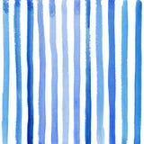 Błękitni lampasy na białym tle Fotografia Royalty Free