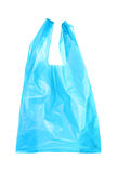 Błękitni plastikowi worki Fotografia Stock