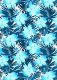 Błękitni poślubników kwiaty Obraz Royalty Free