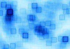 Błękitni sześciany Obrazy Stock