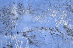 Błękitni wielcy narysy na pasiastej tynk teksturze - cudowny abstrakcjonistyczny fotografii tło zdjęcia royalty free