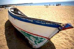 błękitny łódź Obraz Royalty Free