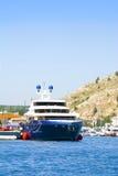 błękitny łódź Zdjęcia Royalty Free