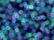 Błękitny Światła Zdjęcia Royalty Free