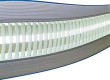 błękitny światła dziennego grey lampy koszty stałe Zdjęcia Royalty Free