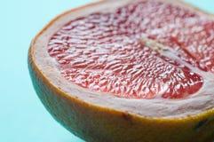 błękitny świeży grapefruit Zdjęcia Stock