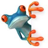 błękitny żaba ilustracji