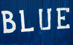 błękitny Obrazy Stock