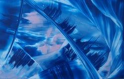 Błękitny abstrakcja Obrazy Royalty Free
