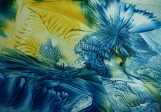 Błękitny abstrakcja Zdjęcie Stock