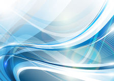 Błękitny abstrakcja Obrazy Stock