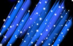 Błękitny abstrakcjonistyczny krystaliczny tło Zdjęcie Stock