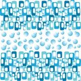 Błękitny abstrakcjonistyczny sztandar Obraz Royalty Free