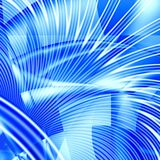 Błękitny abstrakcjonistyczny tło Obrazy Royalty Free