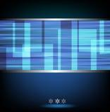 Błękitny abstrakcjonistyczny tło Obrazy Stock