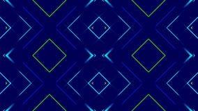 Błękitny abstrakcjonistyczny tło, kolorowy światło, pętla royalty ilustracja