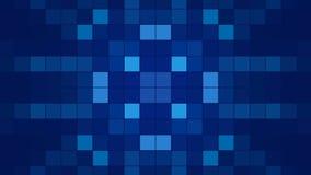 Błękitny abstrakcjonistyczny tło, pętla royalty ilustracja